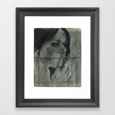 Obscure, Destroy Sketchbook Spread 2 Framed Art Print