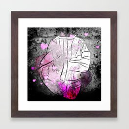 Heart in a Straight Jacket Framed Art Print