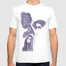 Eagle Mens Fitted Tee White MEDIUM