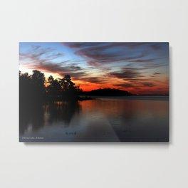 DeGray Lake Sunrise, Arkansas Metal Print
