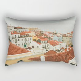 Portugal Lisboa Cityscape photography Rectangular Pillow