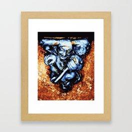 Court Jester in Colour Framed Art Print