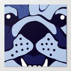 Bluedog Canvas Print