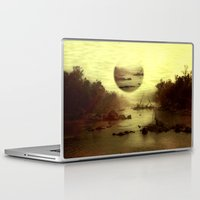 jazzberry Laptop & iPad Skins featuring Illusive visions float above my head... by Donuts