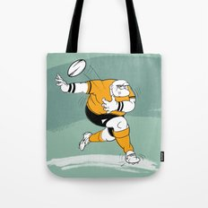 Rugby Player Tote Bag