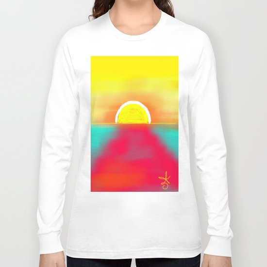 HOT SUNSET Long Sleeve T-shirt