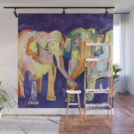 Elephant Love Wall Mural