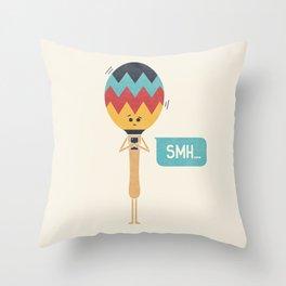 SMH Throw Pillow