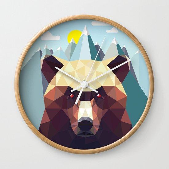 Bear Mountain  Wall Clock
