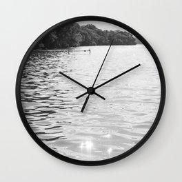 Lake Summer Wall Clock