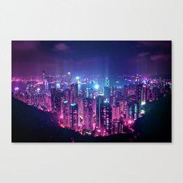 Neo Hong Kong Canvas Print