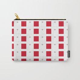 flag of Malta-maltese,maltes,malti,valletta,birkirkara,mosta,Gozo,mediterranenan Carry-All Pouch