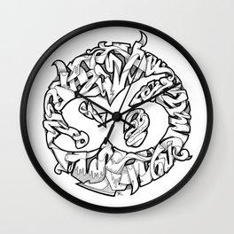 S6 Tee (Tangled6) Wall Clock