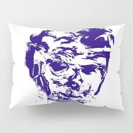 face 10, blue Pillow Sham