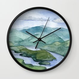 Lake Placid Wall Clock