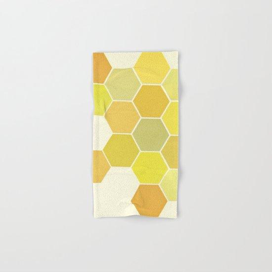 Shades of Yellow Hand & Bath Towel