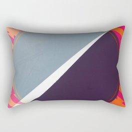 London - color hexagon Rectangular Pillow