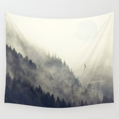 Forest Moon Wall Tapestry