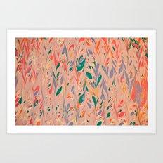 Marble Print #2 Art Print
