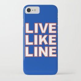 LIVE LIKE LINE Volleyball iPhone Case