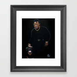 Who Stole My CD Player? Framed Art Print