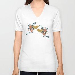 Apple Blossom Butterfly (Spirit) Unisex V-Neck