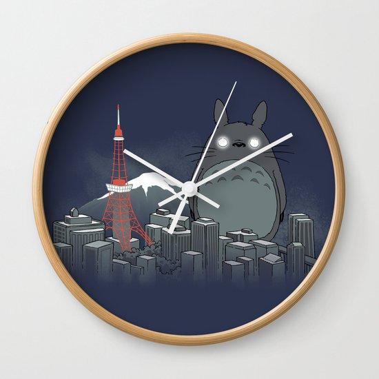 My Angry Neighbor Wall Clock