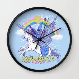 Pizza Wizard Wall Clock