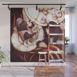 Jazzy Otter Wall Mural