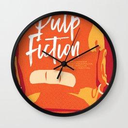 Quentin Tarantino's Plot Movers :: Pulp Fiction Wall Clock