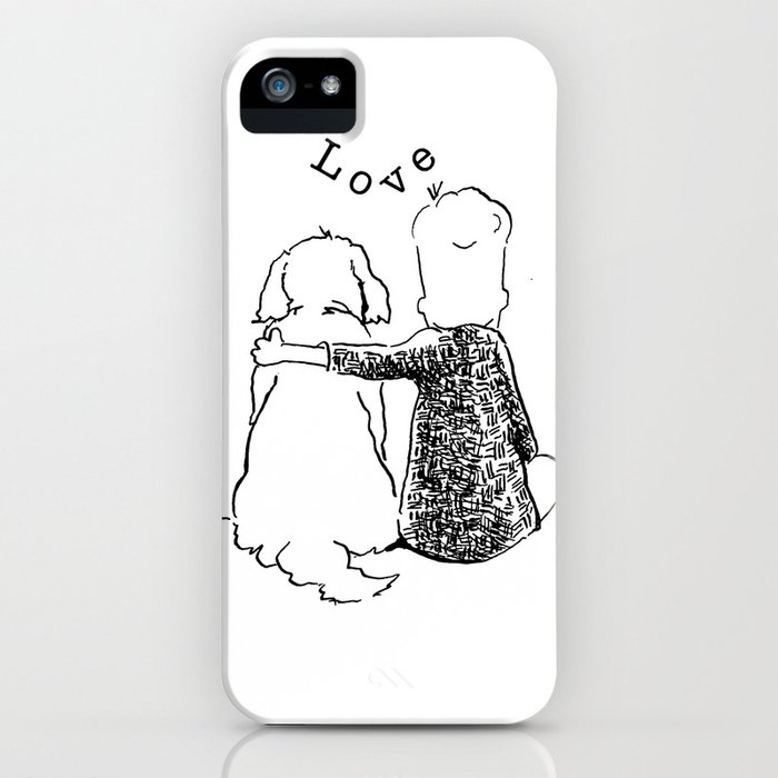 love needs no words iPhone Case