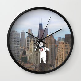 Chicago Invasion Wall Clock