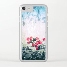 BLACKBERRIES AT THE BOATHOUSE 01 (everyday 09.01.2017) Clear iPhone Case