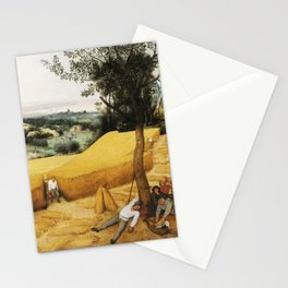 The Harvesters by Pieter Bruegel the Elder, 1565 Stationery Cards