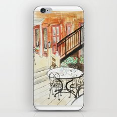 Afternoon At Maxfields  iPhone & iPod Skin