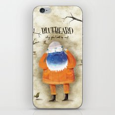 Bluebeard iPhone & iPod Skin