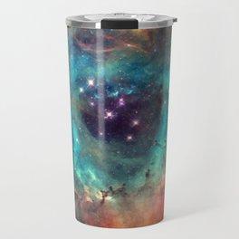 Colorful Nebula Galaxy Travel Mug