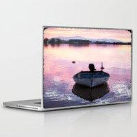 boat Laptop & iPad Skins featuring Boat by Dora Birgis