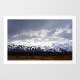 Alpine View, South Island New Zealand Art Print
