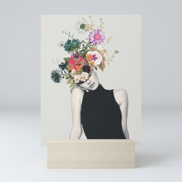 Floral beauty Mini Art Print