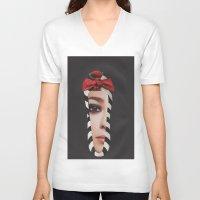motivation V-neck T-shirts featuring Motivation by Jitka Kopejtkova