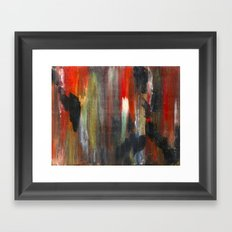 Crude Oil Chart  Framed Art Print