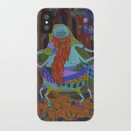 The Spider Wizard iPhone Case