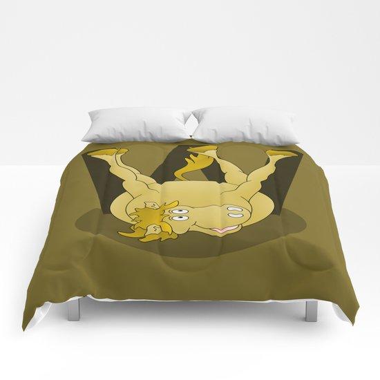 Monogram W Pony Comforters