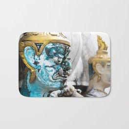 Buddhist Temple Demon Bath Mat