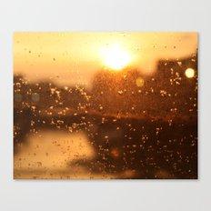 Rain Sunset I Canvas Print