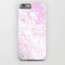 TOO PINK MARBLE iPhone Case