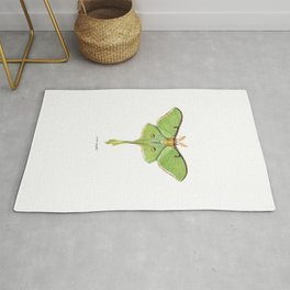 Luna Moth (Actias luna) II Rug