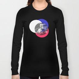 Malcom X - Shouts of Glory Long Sleeve T-shirt