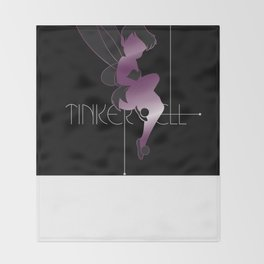 Neon Tink Throw Blanket